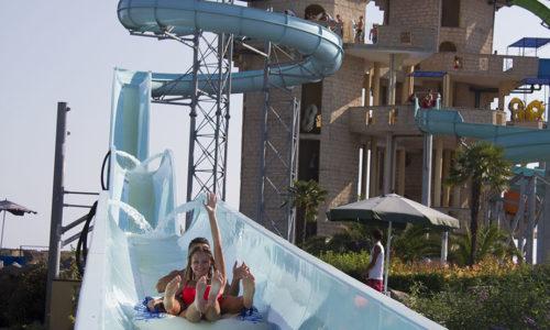 Водна пързалка Гигантски слалом, Аквапарк Несебър
