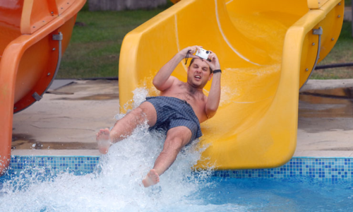 Водна пързалка Свободно падане, Аквапарк Несебър