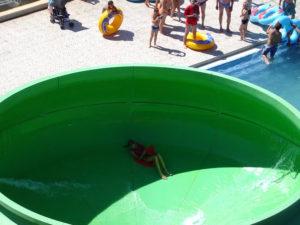 Водна пързалка Окото на бурята, Аквапарк Несебър