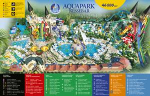 Карта на Аквапарк Несебър