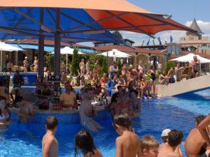 Воден бар, Аквапарк Несебър