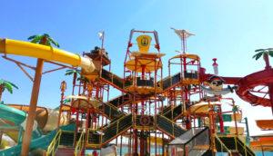 Детска зона Островът на съкровищата, Аквапарк Несебър